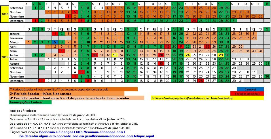 Calendário 2019 Com Feriados Angola Más Actual CalendÁrio Escolar 2019 → Inicio Do Ano Férias E Feriados Of Calendário 2019 Com Feriados Angola Recientes Calendário De Feriados De 2016 Programe Se Para Viajar