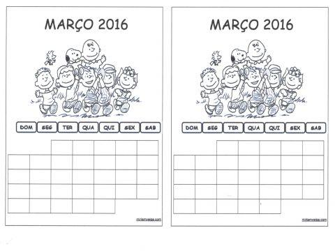 Calendário 2019 Com Feriados Para Imprimir Más Arriba-a-fecha Arquivo Para Calendário 2016 Turma Da M´nica