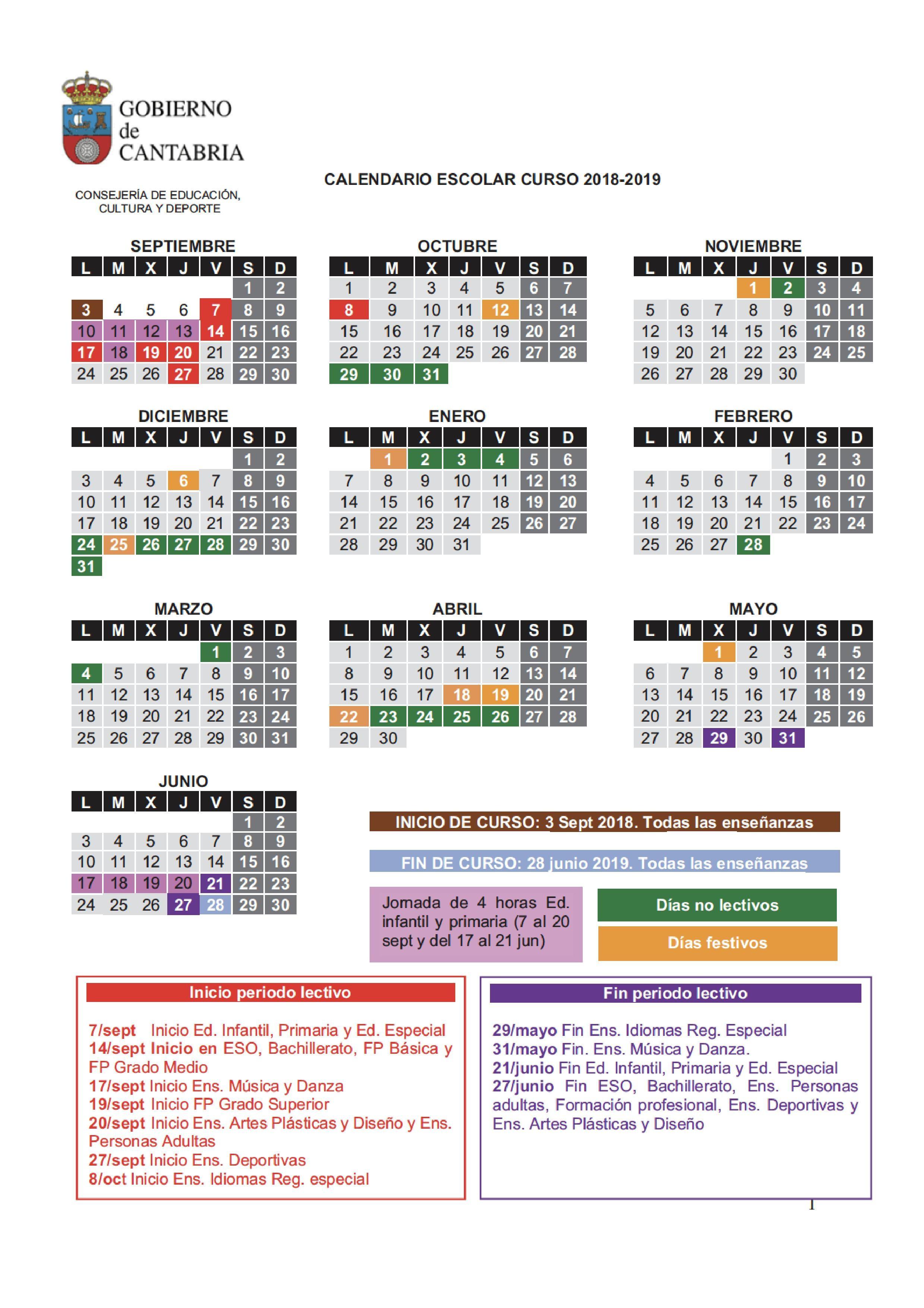 Calendário 2019 Com Feriados Pdf Más Arriba-a-fecha Calendrio Abril 2018 Infantil T Calendario 2018