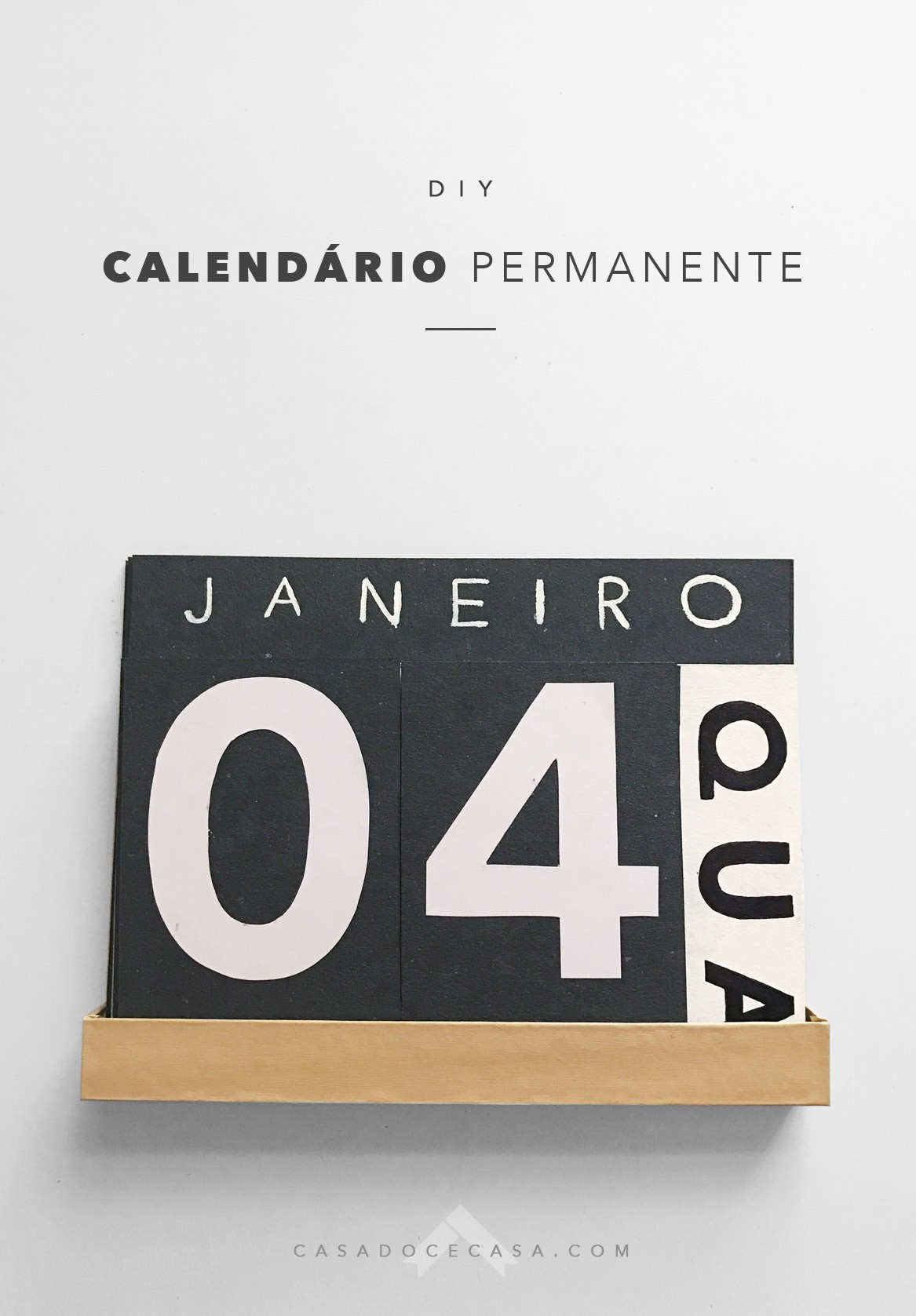 E já que estou falando tanto em planejamento aproveitar o ano novo e cumprir metas o primeiro projeto é um calendário de mesa