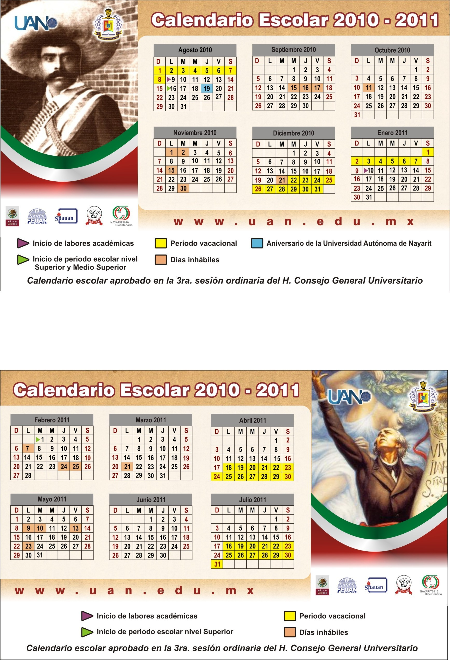Calendario de bolsillo ver en alta resoluci³n[831