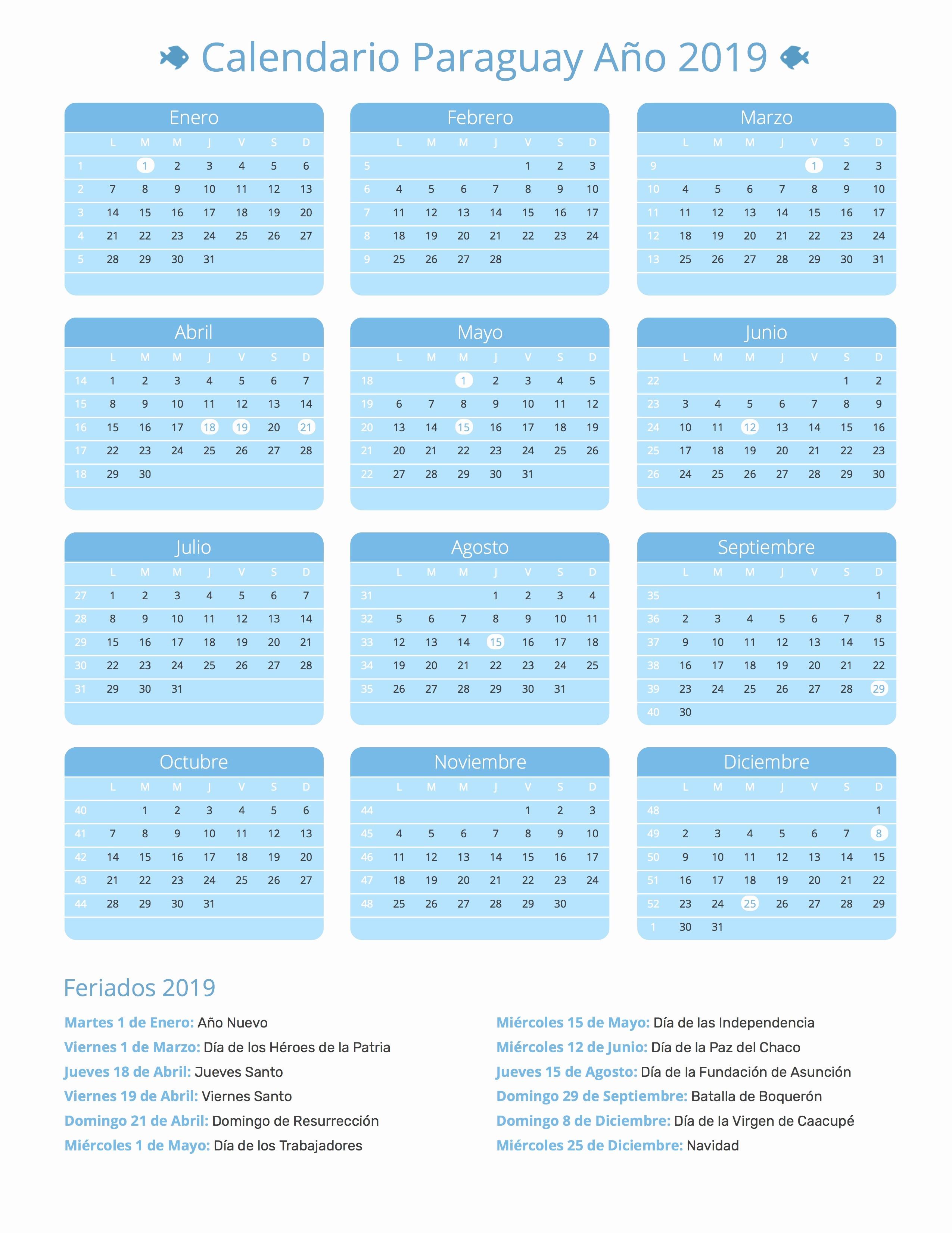 calendario paraguay 2019 calendario paraguay 2019 calendario paraguay ano 2019 feriados 2
