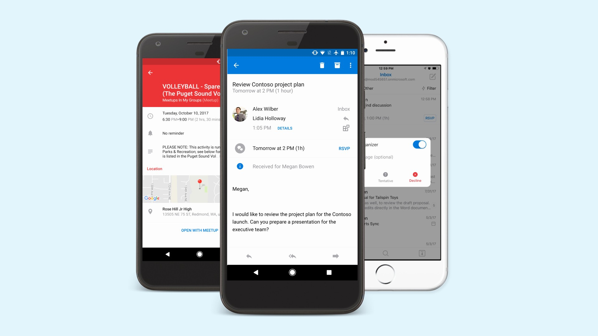 Outlook Calendario android 2019 Melhorias No Email E Calendario Do Outlook Para Ios