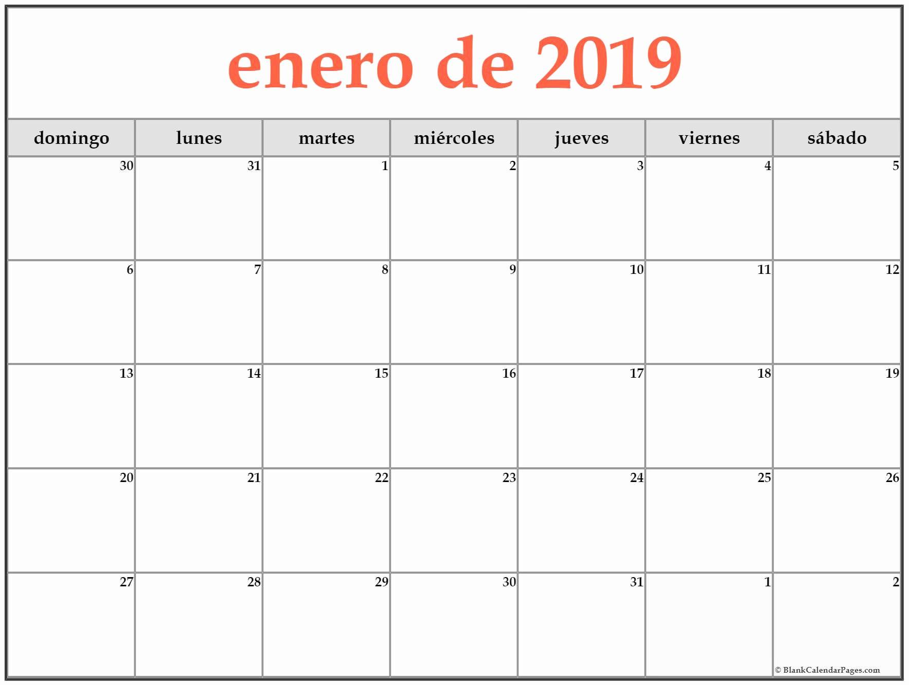 Fotogramas Calendario 2019 Enero De 2019 Calendario Gratis Calendario De