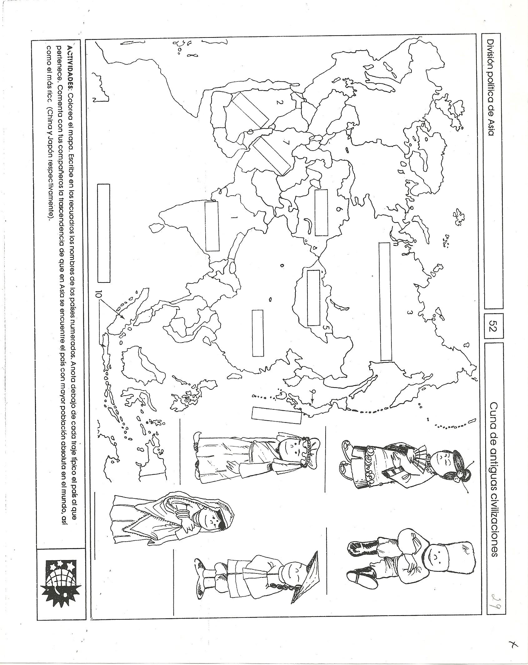 AFRICA AMERICA ASIA EUROPA