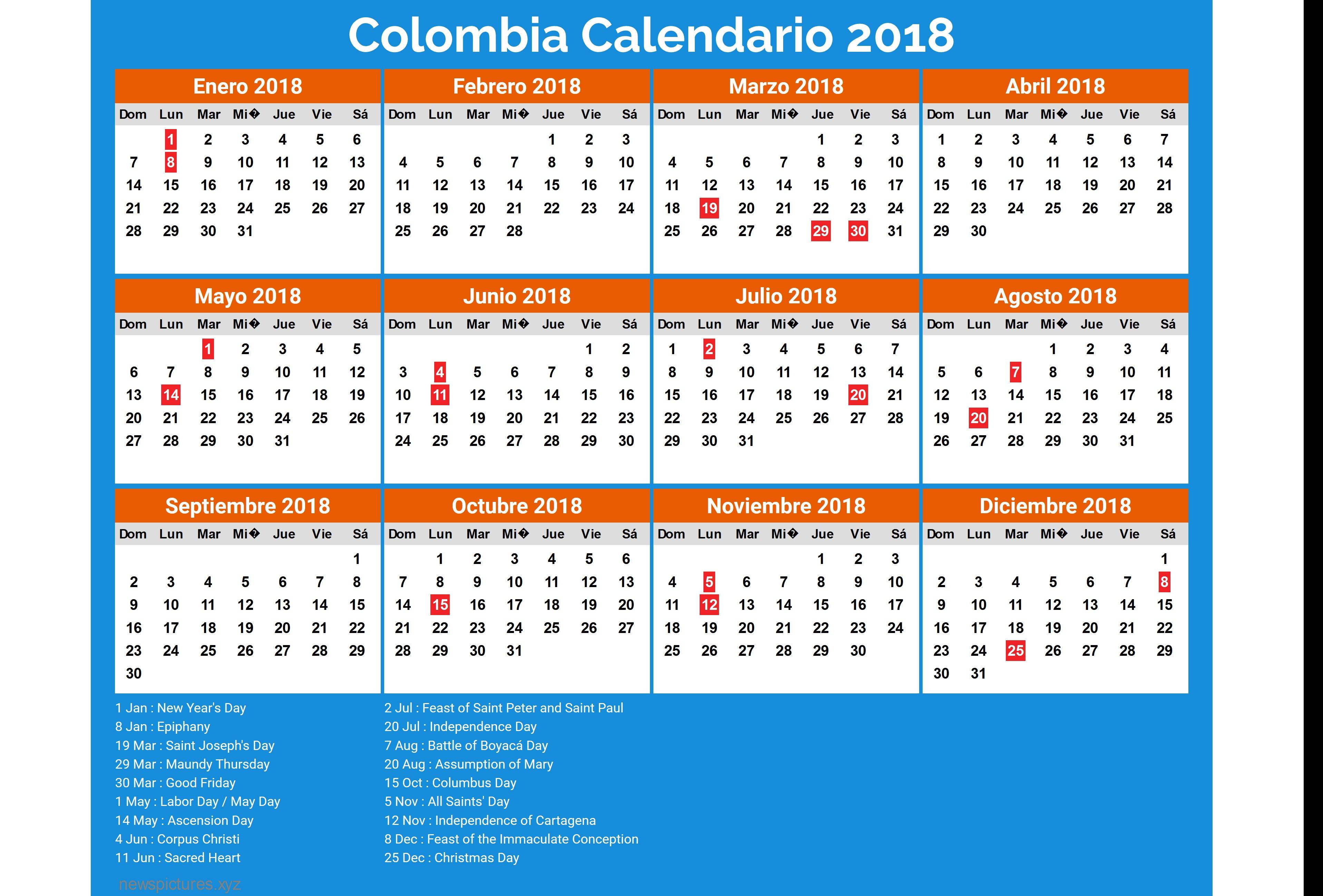Calendario septiembre 2018 para imprimir – iCalendario