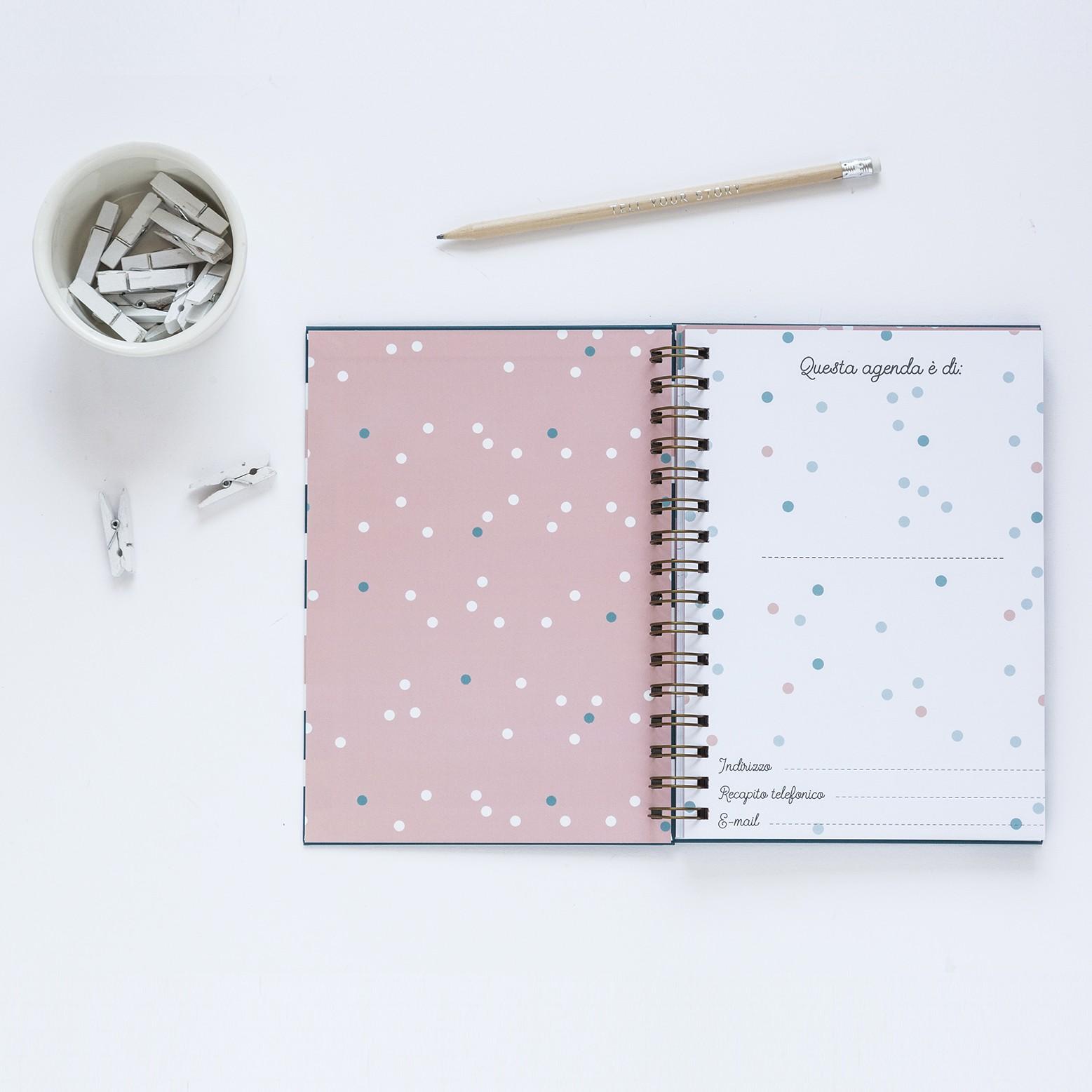 All inizio l agenda Le Petit Rabbit ha due odissimi calendari del 2018 e del 2019 con spazio note per non perdere di vista nessun giorno importante