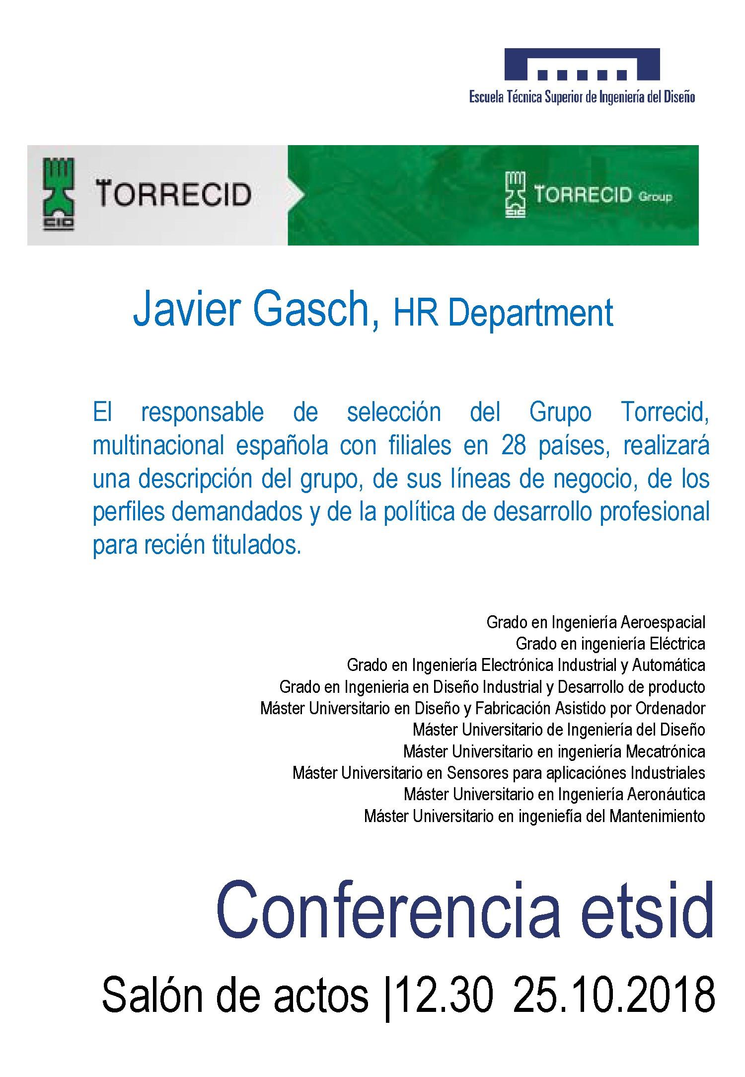 Torrecid 25 10 18