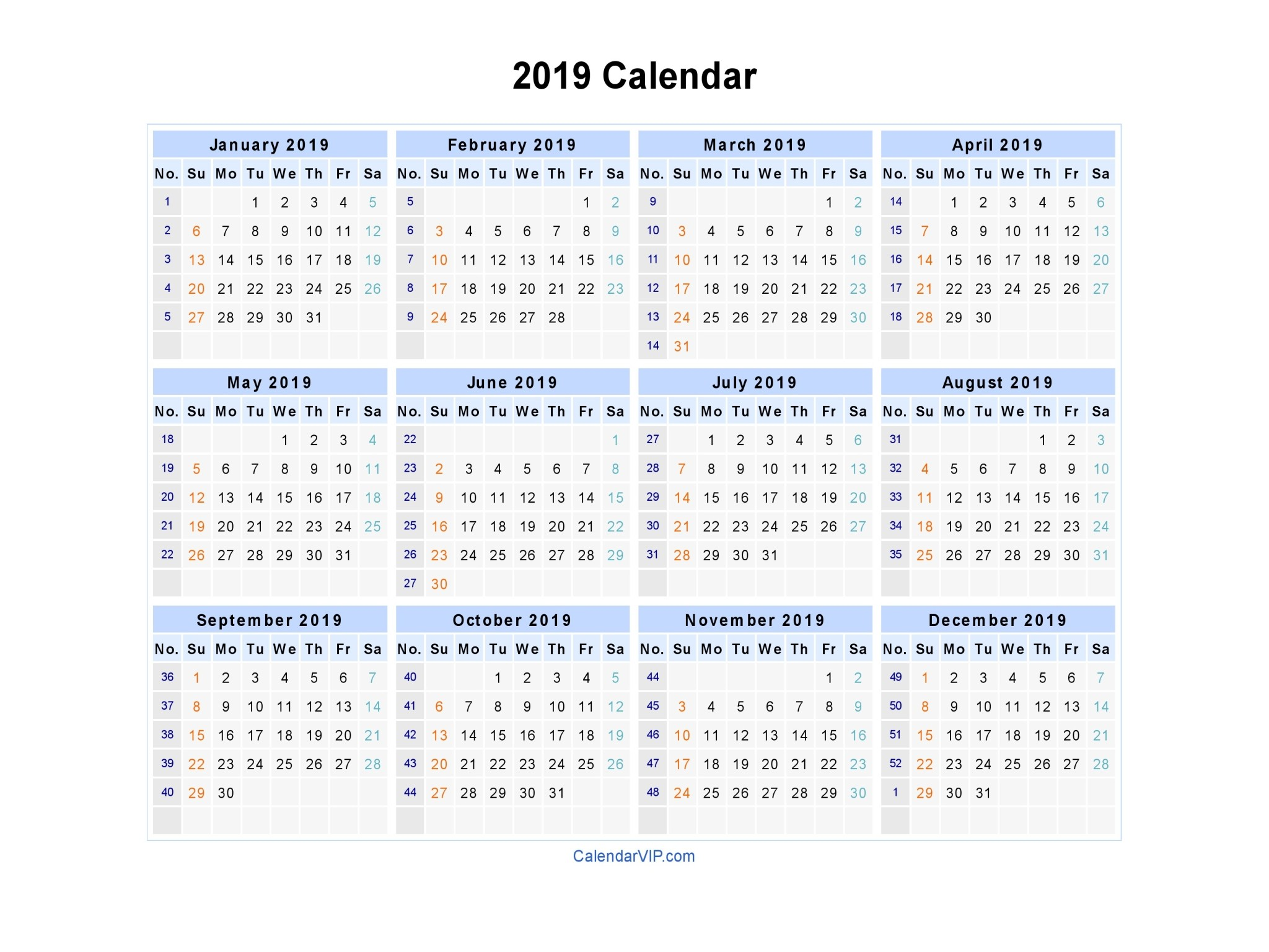 Calendario 2019 E 2020 Más Recientes 2019 Word Calendar Calendar 2019 Free Printable Word Of Calendario 2019 E 2020 Más Actual Calendar Template In Word 2010 S Personalize A for Microsoft Mo