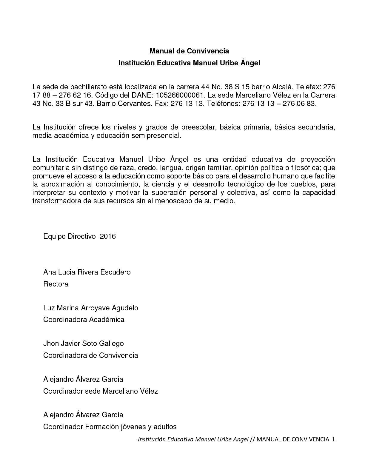 Calendario 2019 Escolar Secundaria Más Reciente Calaméo Manual De Convivencia Mua 2017 Of Calendario 2019 Escolar Secundaria Recientes Impresionante 42 Ilustraci³n 1997 Calendario 2019