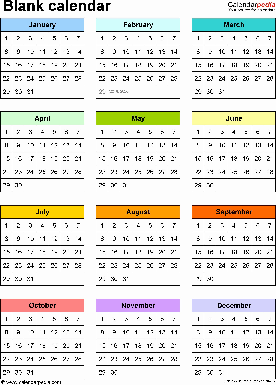 New 75 Design 2019 Calendar Excel Blank Calendar 9 Free Printable