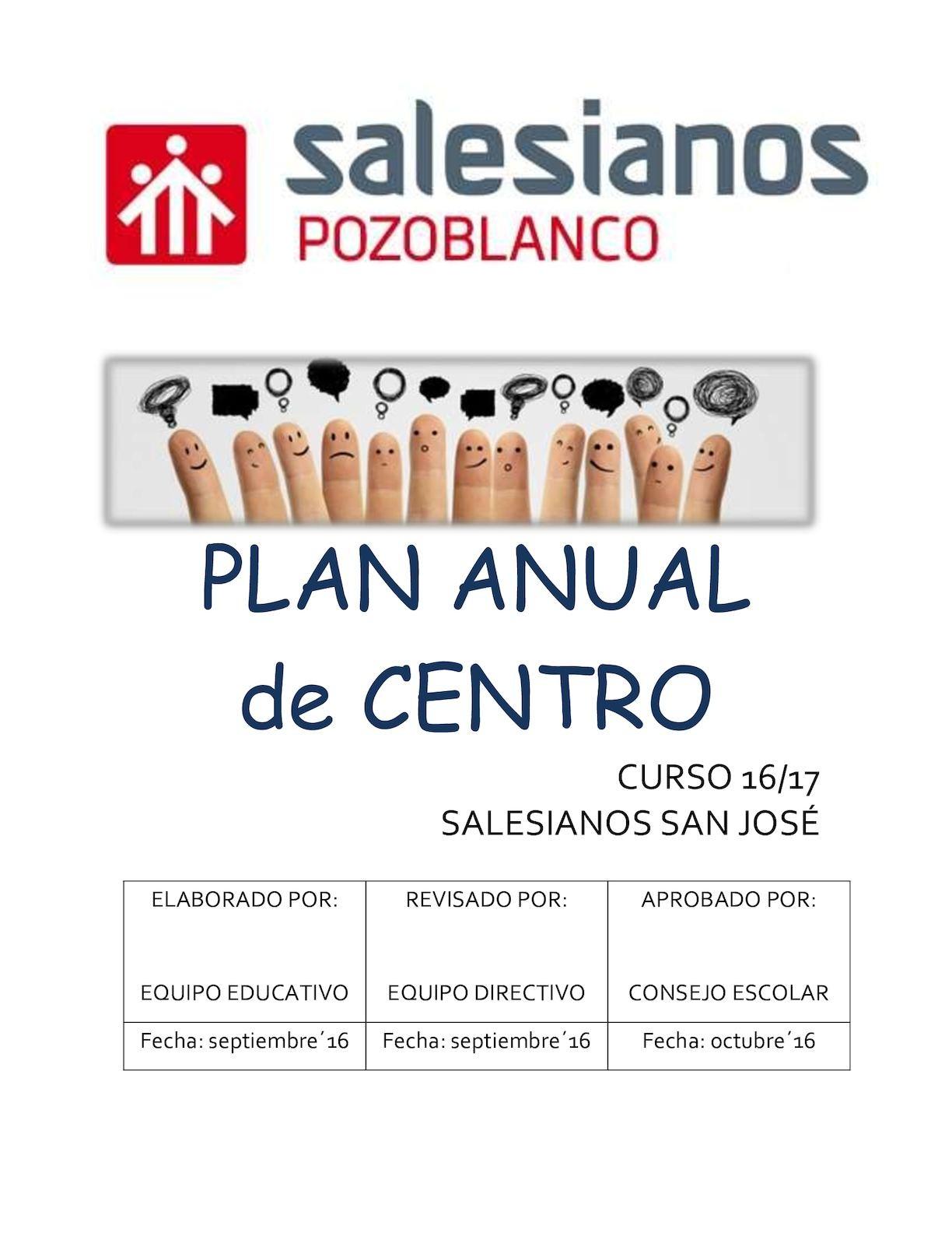 Calaméo Plan Anual Centro 16 17