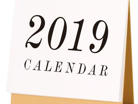 Calendario 2019 Feriados Mexico Más Arriba-a-fecha Escritorio Pad Calendario 2019 Mensual Con soporte Septiembre 2018
