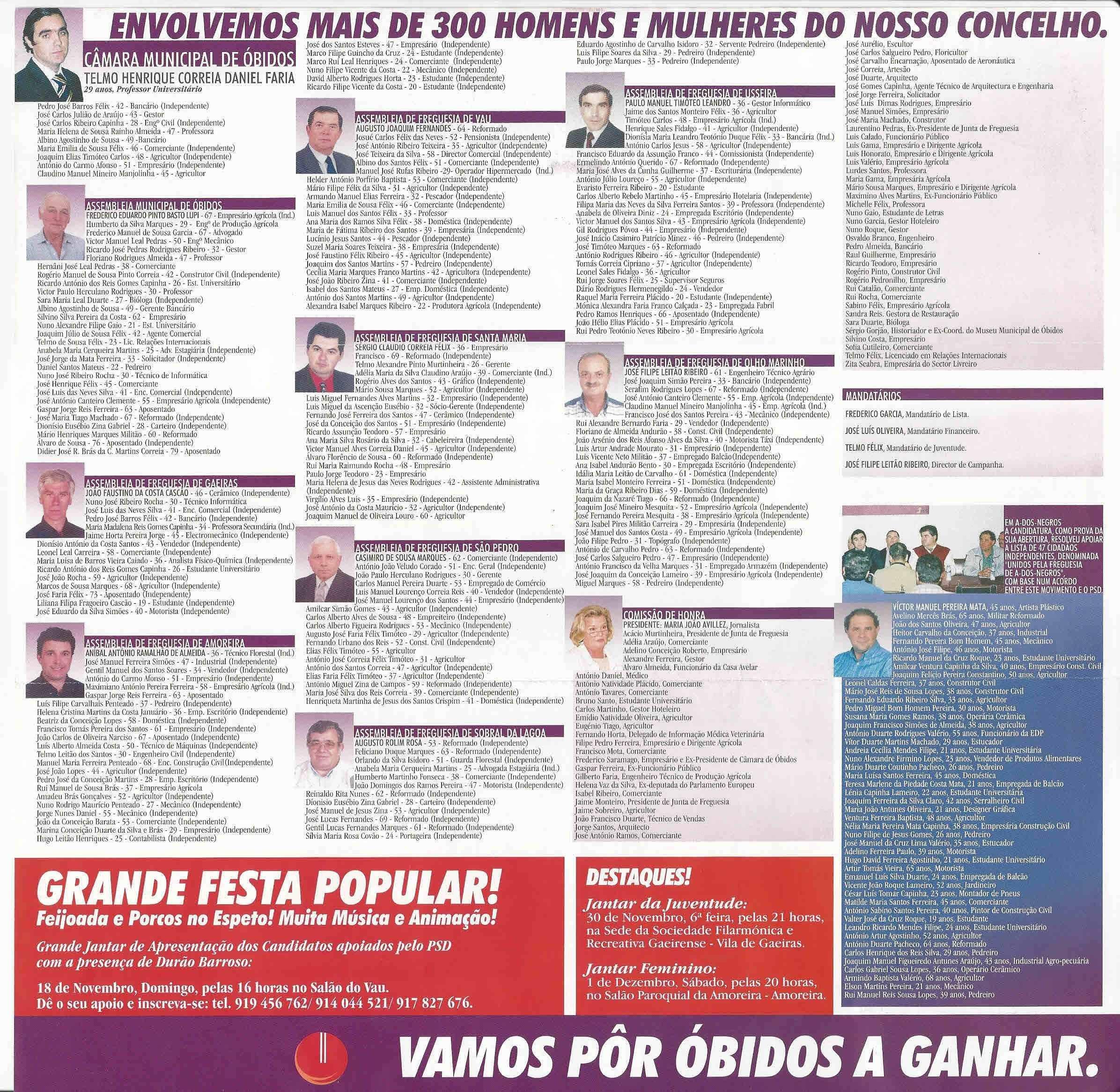 """Calendario 2019 Fes Aragon Más Populares Elei‡•es Autrquicas De 2001 – """"bidos – Psd – Ephemera – Biblioteca Of Calendario 2019 Fes Aragon Más Recientes Evaluar Calendario 2019 Lune"""