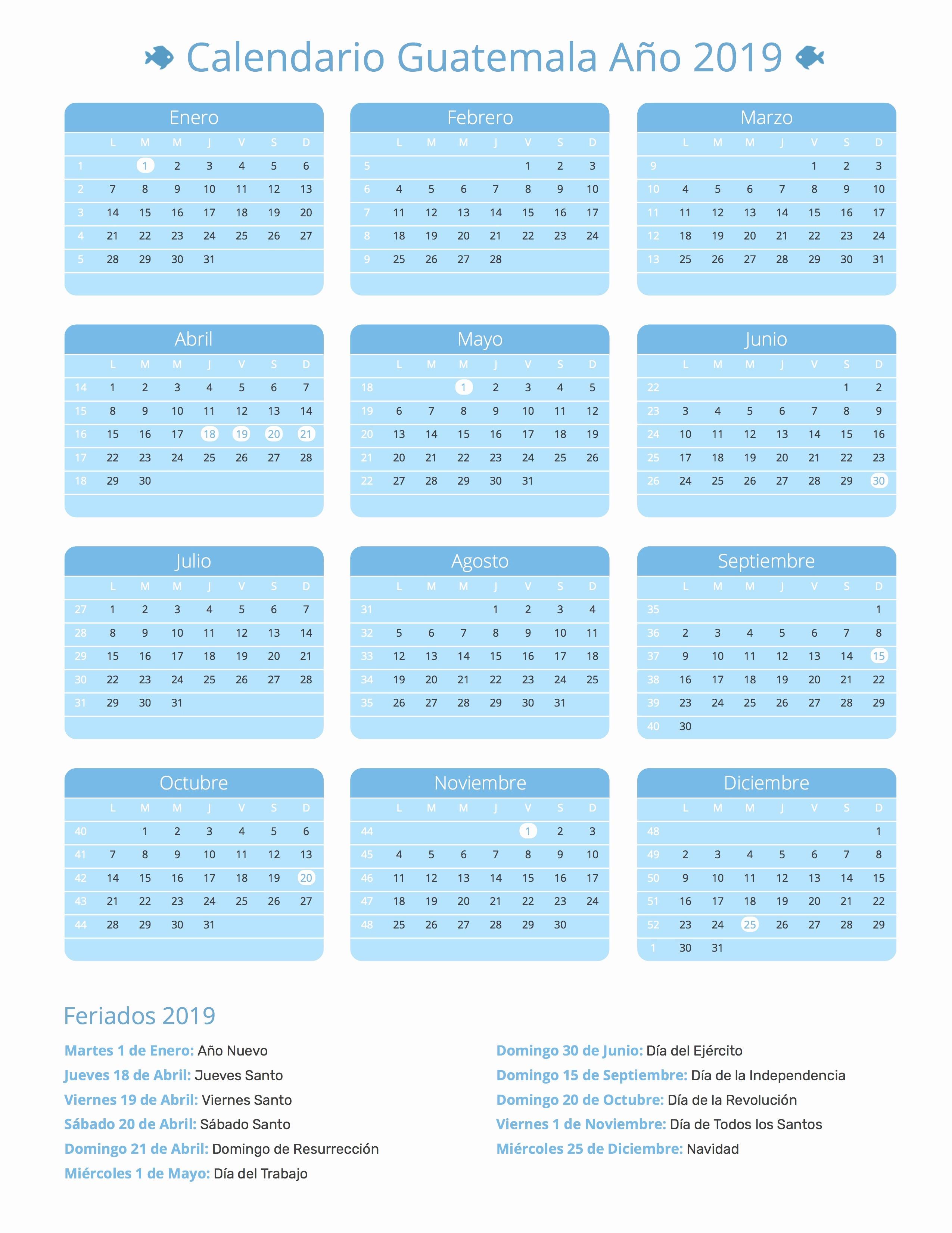 Cada Cuanto Se Repiten Los Calendarios 2019 Para Que Estes Al Dia