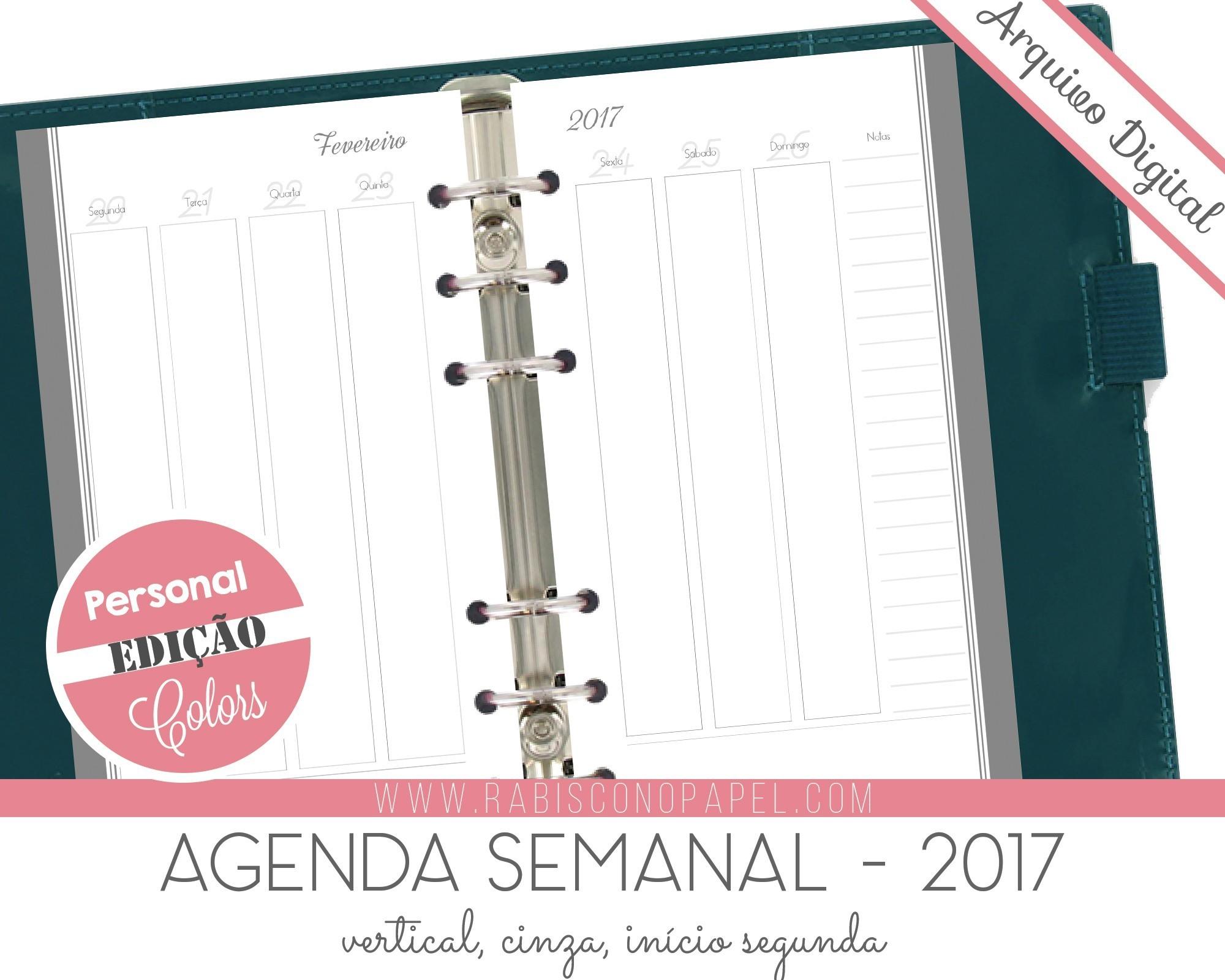 calendario 2019 e os feriados imprimivel agenda vertical 2017 personal cinza