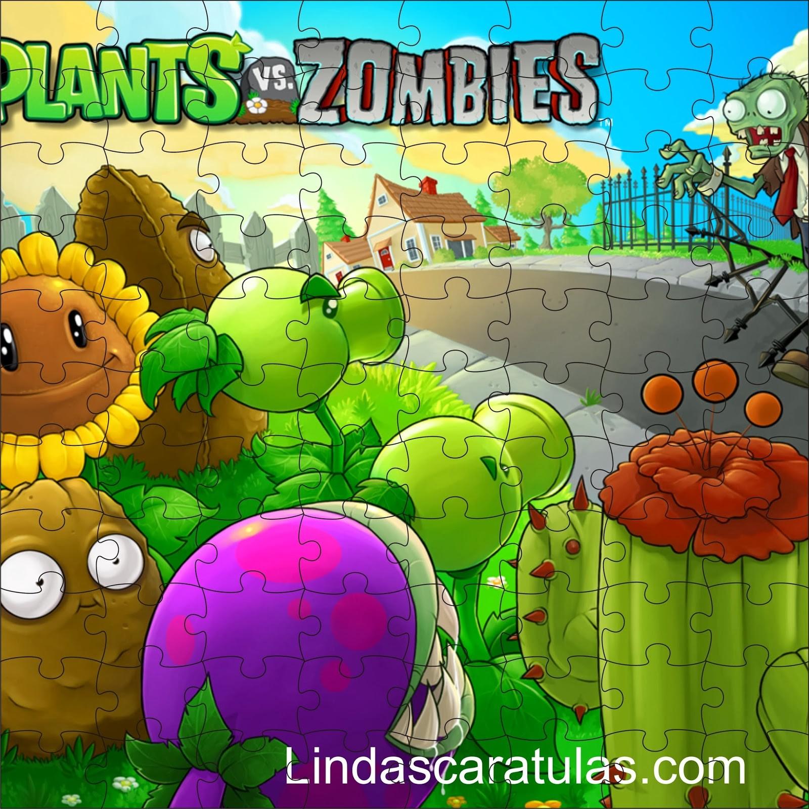 Si adoras Plantas Vs Zombies o Jhosue y yo te dejo además unas caratulas para tus cuadernos del colegio