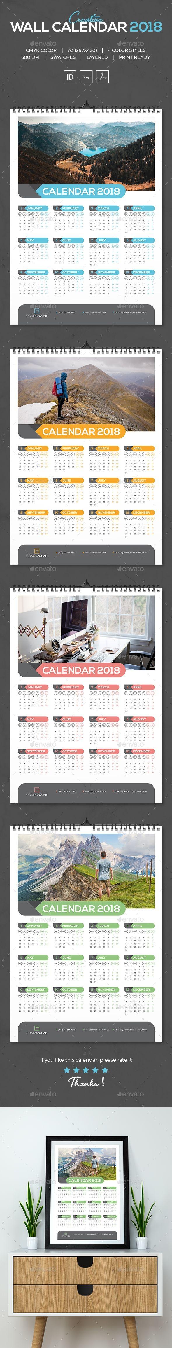 Calendario 2019 Indesign Más Caliente Wall Calendar 2018 Calendars Stationery Calendar Of Calendario 2019 Indesign Mejores Y Más Novedosos Unique Calendars 2016 Half Page Calendar Template 2016 Unique