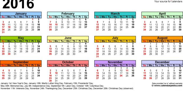 Calendario 2019 Julio Más Recientes 2015 2016 2017 Calendar 4 Three Year Printable Pdf Calendars