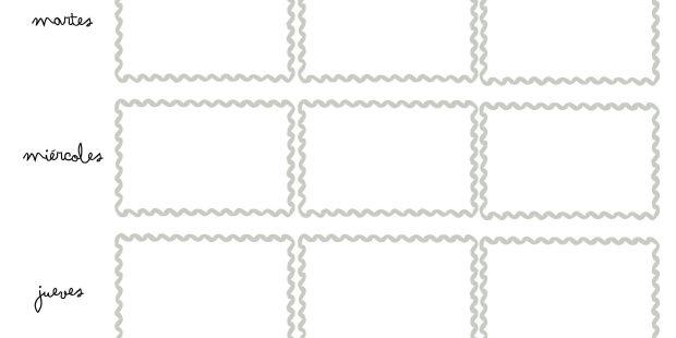 Calendario 2019 Mensual En Blanco Para Imprimir Mejores Y Más Novedosos Vuelta Al Cole 2017 100 Plantillas Y Horarios Gratis Para Imprimir