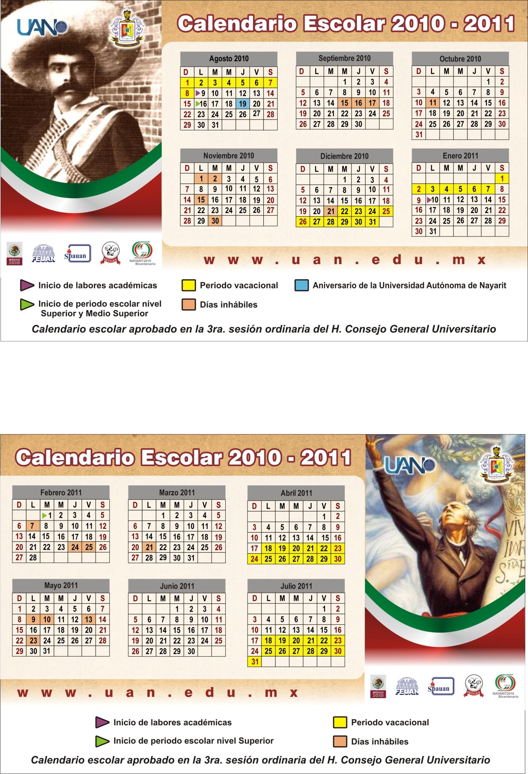 Calendario de bolsillo ver en alta resoluci³n[831