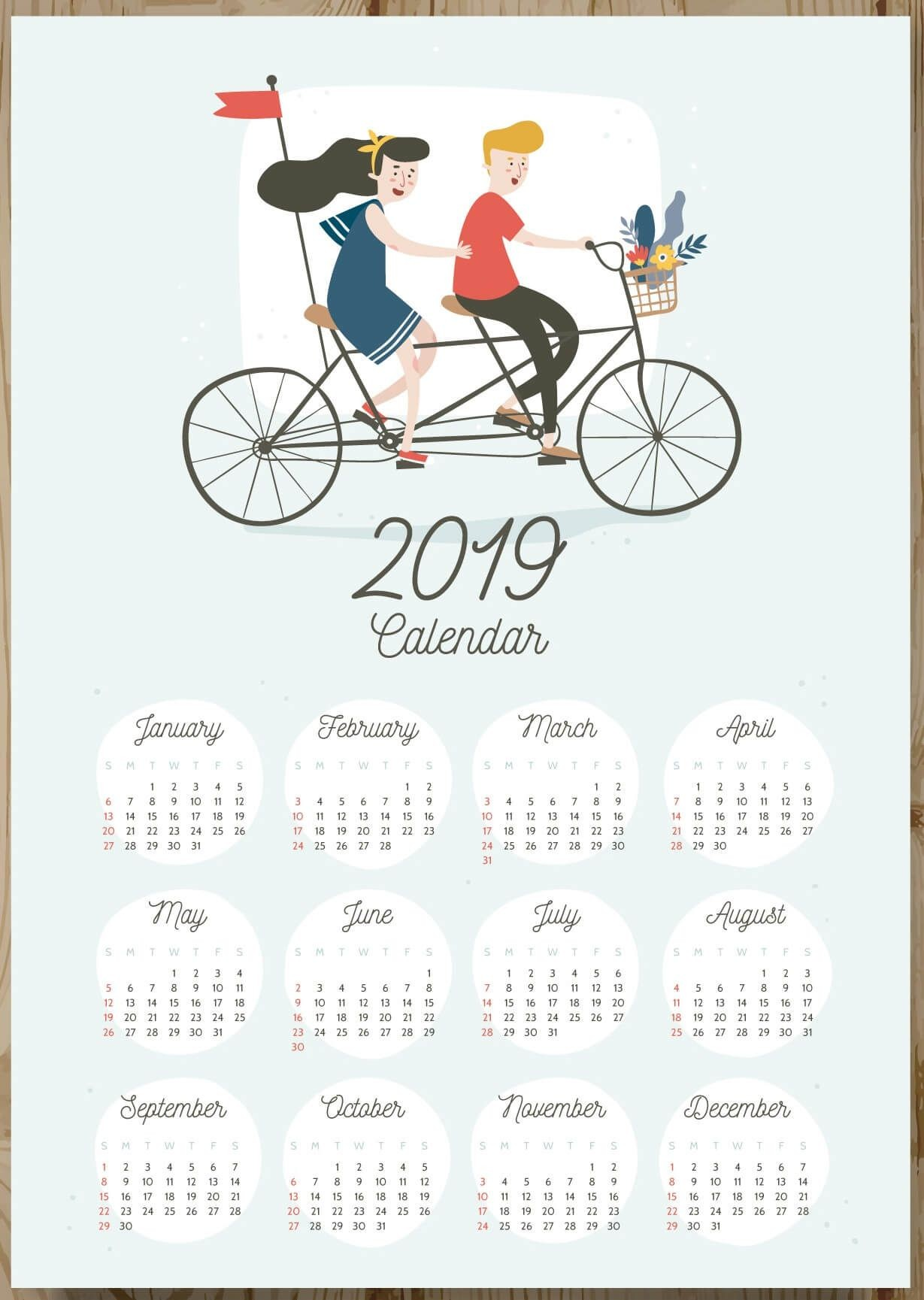 Calendario 2019 Para Imprimir Con Fotos Recientes 12 Months 2019 E Page Calendar 2019calendars Of Calendario 2019 Para Imprimir Con Fotos Más Populares De Lujo 51 Ejemplos Festivos 2019