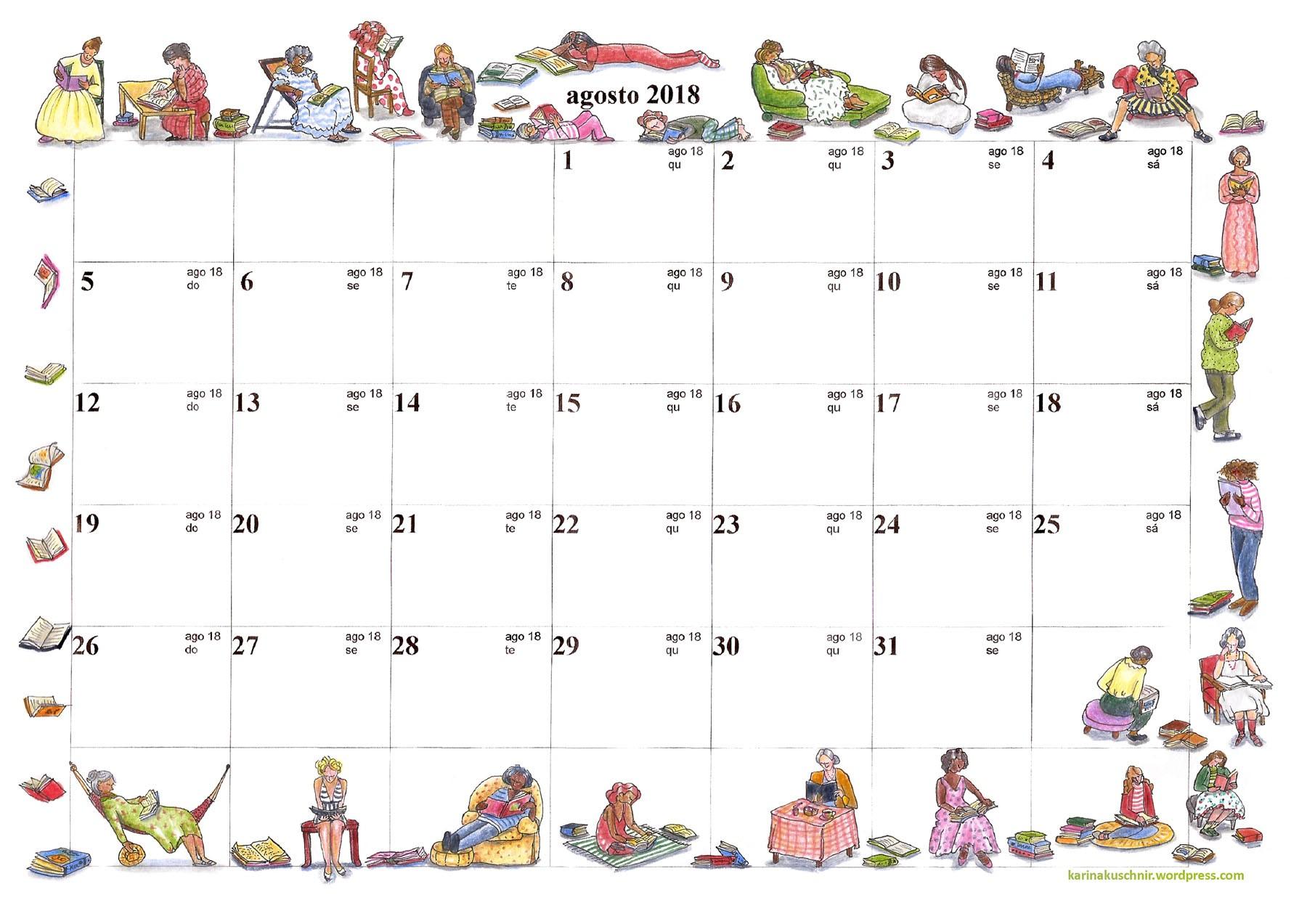 Calendários para calendario