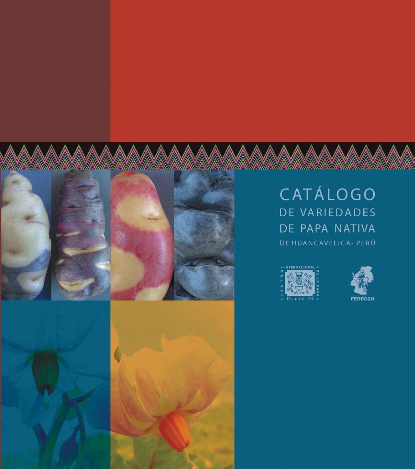 Catálogo de variedades de papa nativa de Huancavelica Perº by International Potato Center issuu