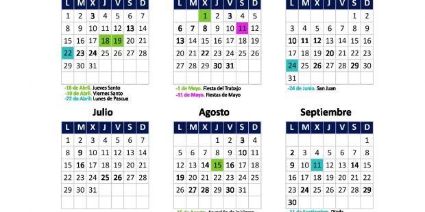 Calendario 2019 Septiembre Actual Pascua 2019
