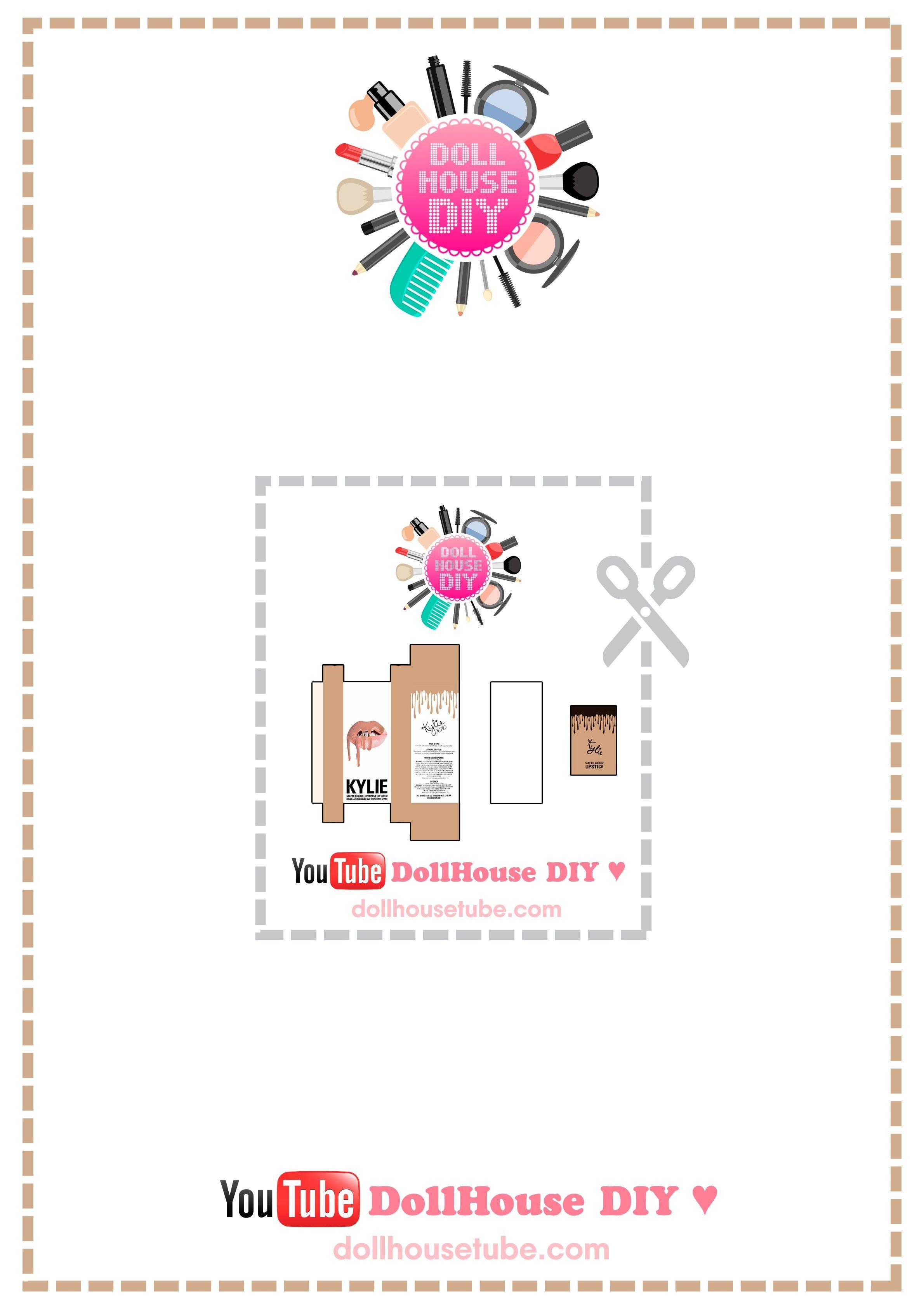 Calendario Abril 2017 Para Imprimir Más Populares Realistic Miniature Lip Kit by Kylie Jenner Tutorial Dollhouse Diy Of Calendario Abril 2017 Para Imprimir Más Caliente Observar Calendario Para Imprimir 2019 Pdf