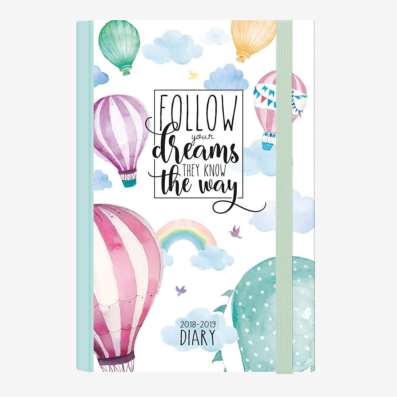Legami Agenda Giornaliera Fotografica Medium 16 Mesi 2018 2019 Air Balloon Amazon Cancelleria e prodotti per ufficio