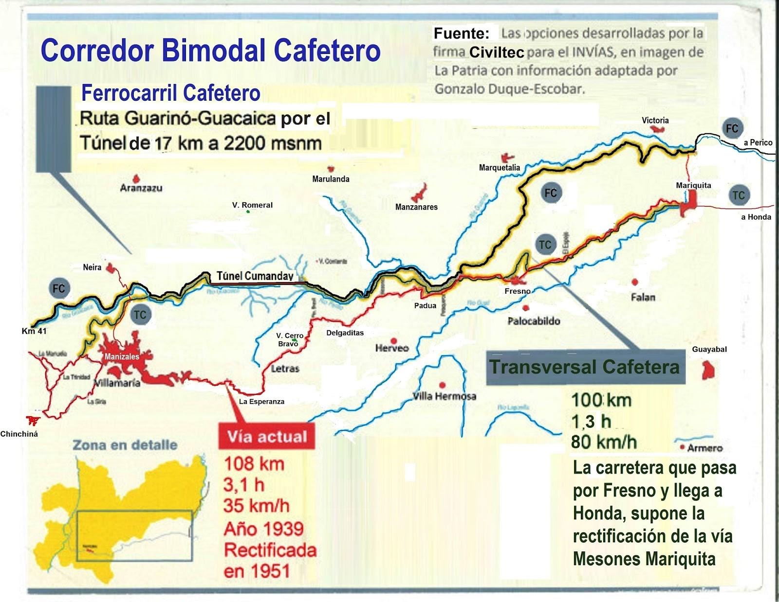 Ferrocarril Cafetero Imagen de contraportada
