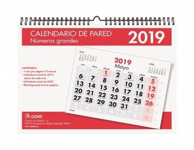 Calendario Anual 2018 Y 2019 Mejores Y Más Novedosos Icina Y Papelera Calendarios Agendas Y organizadores