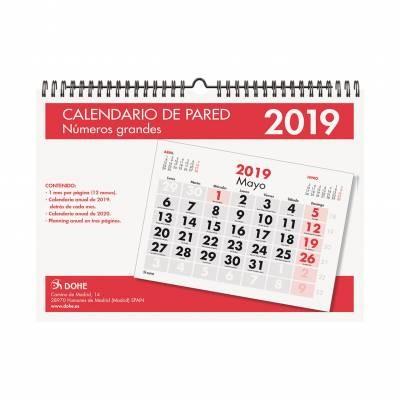 Dohe Calendario pared de Dohe