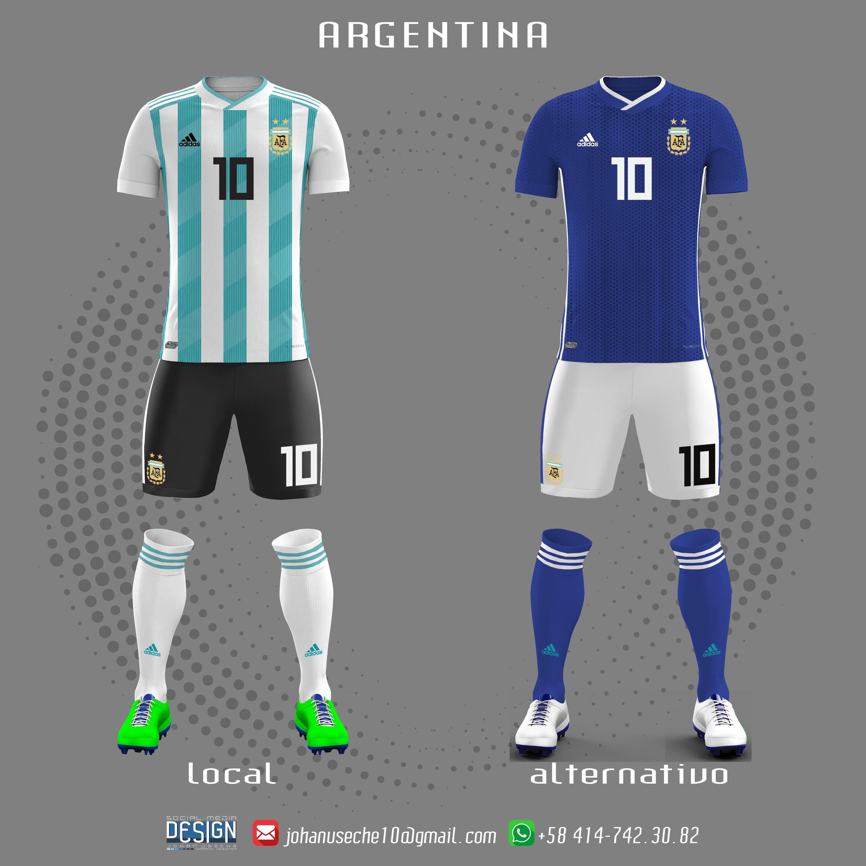 kit Argentina copa américa 2019 no oficial