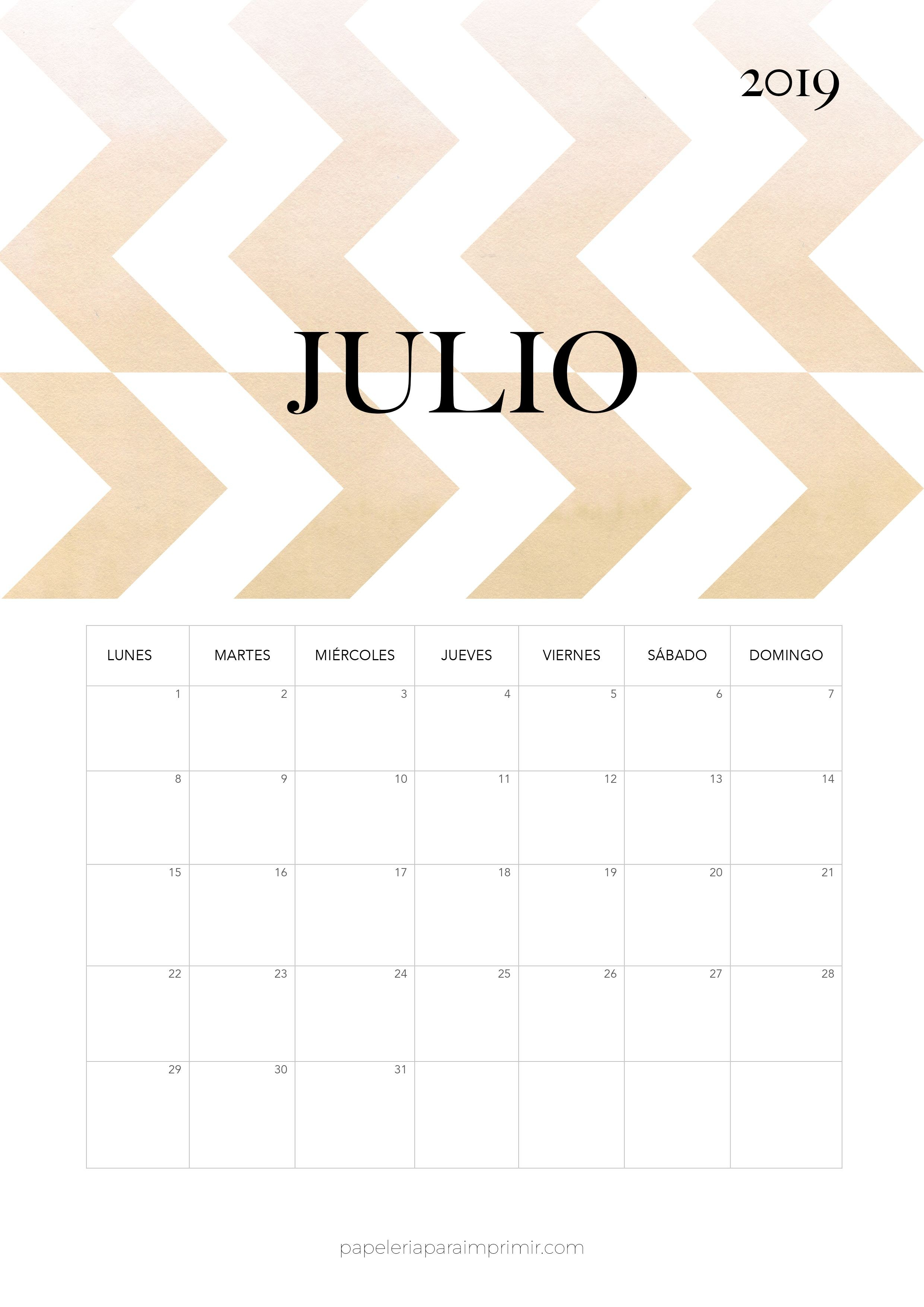 Calendario Completo 2018 Y 2019 Actual Calendario 2019 Julio Calendario Mensual Moderno De Estilo Minimal Of Calendario Completo 2018 Y 2019 Mejores Y Más Novedosos Agenda 2019 Con Mandalas Para Colorear Y Consignas Para Dise±ar Tu