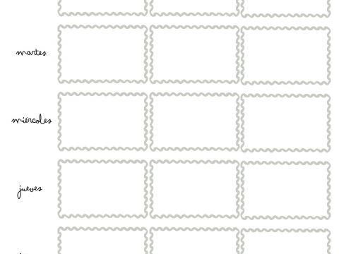 Calendario De Agosto 2019 Para Imprimir Infantil Actual Vuelta Al Cole 2017 100 Plantillas Y Horarios Gratis Para Imprimir