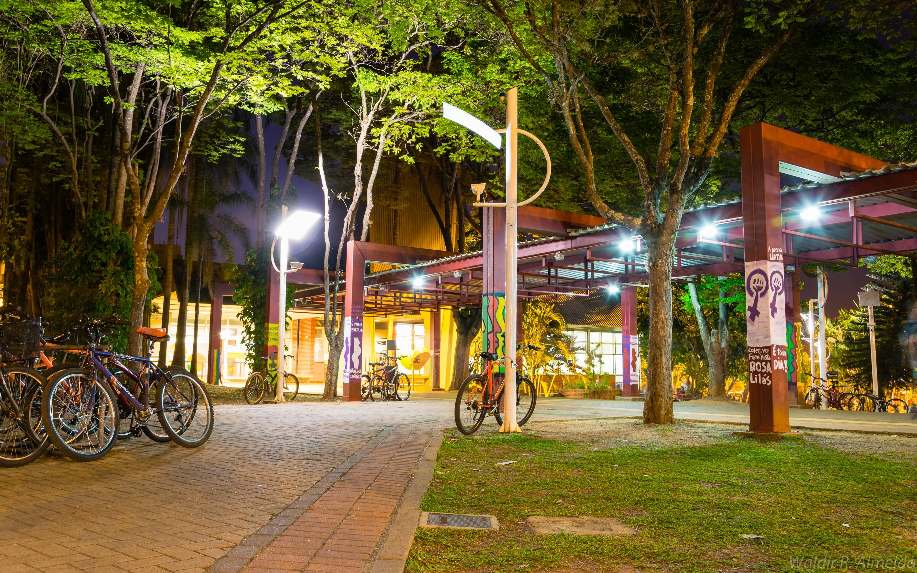 Entrance to the Restaurant UNICAMP 2015