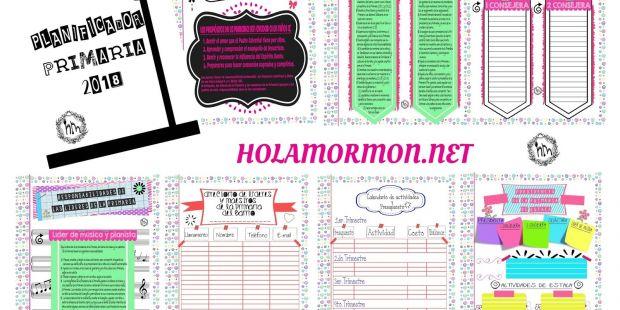 Calendario De Semana Santa Y Pascua 2019 Más Reciente Holamormon3 Primaria Lds Sud 2018