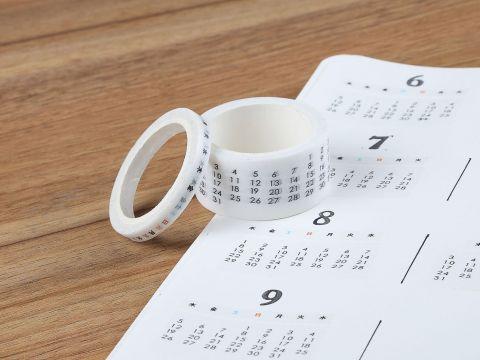 Calendario Del 2019 Bolivia Más Reciente Creative Monthly Weekly Date Calendar Washi Tape Diy Scrapbooking
