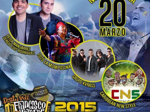 Calendario Del Carnaval De Barranquilla 2019 Más Recientes Programacion Festival Francisco El Hombre Lavibrante