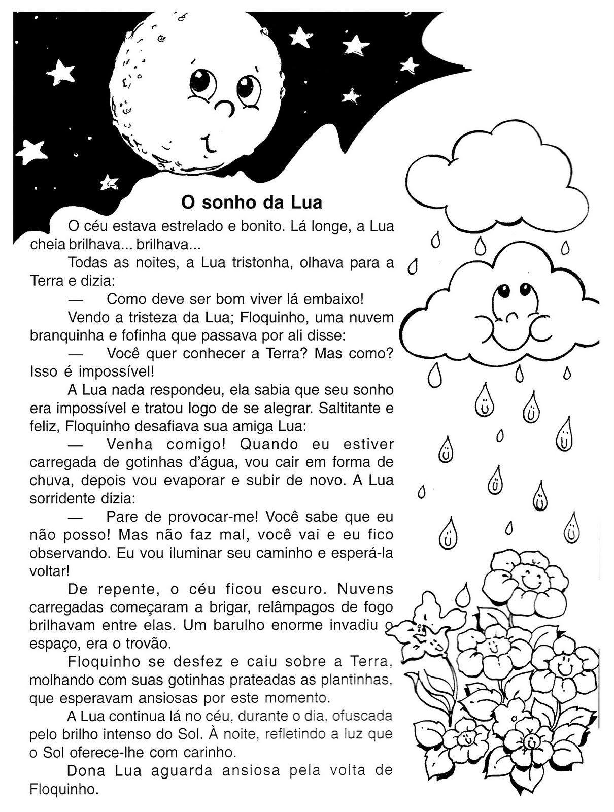 """Textos para imprimir Leituras S"""" ESCOLA"""