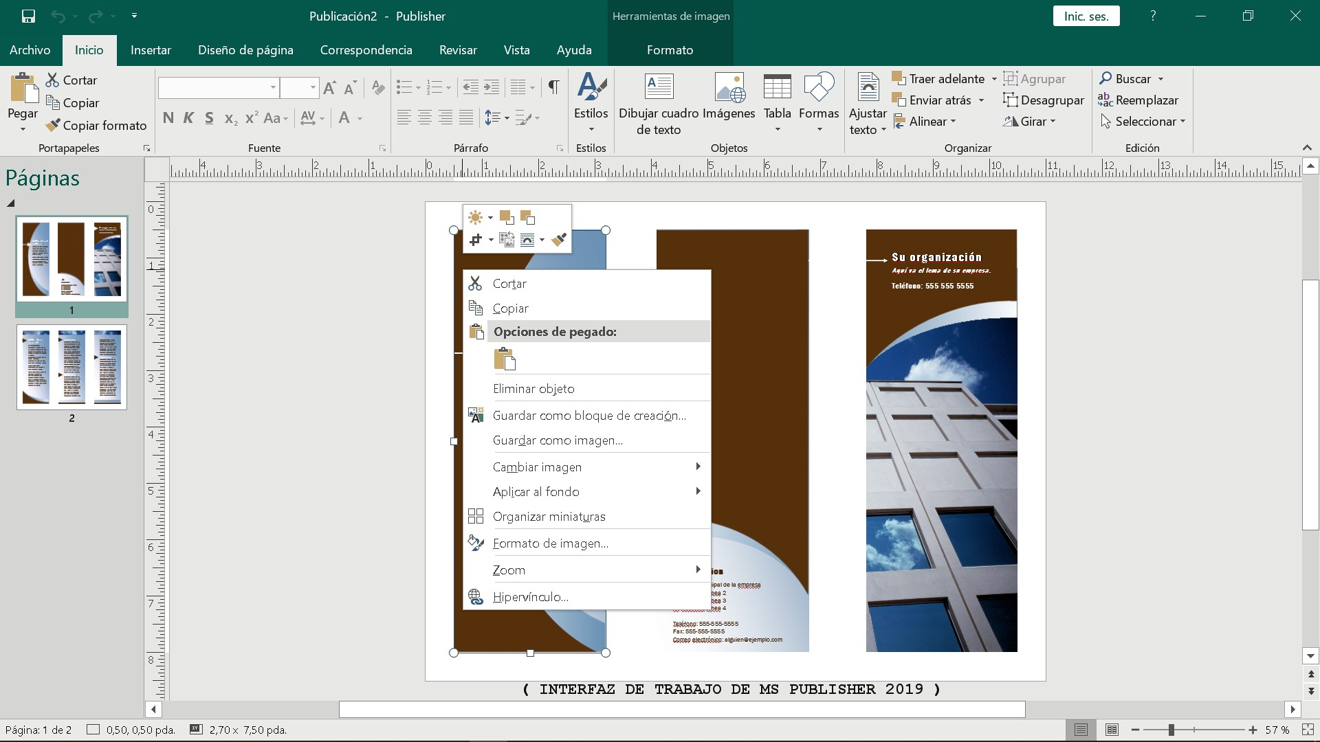 Calendario En Blanco Para Imprimir Pdf Más Actual Tutorial Publisher 2019
