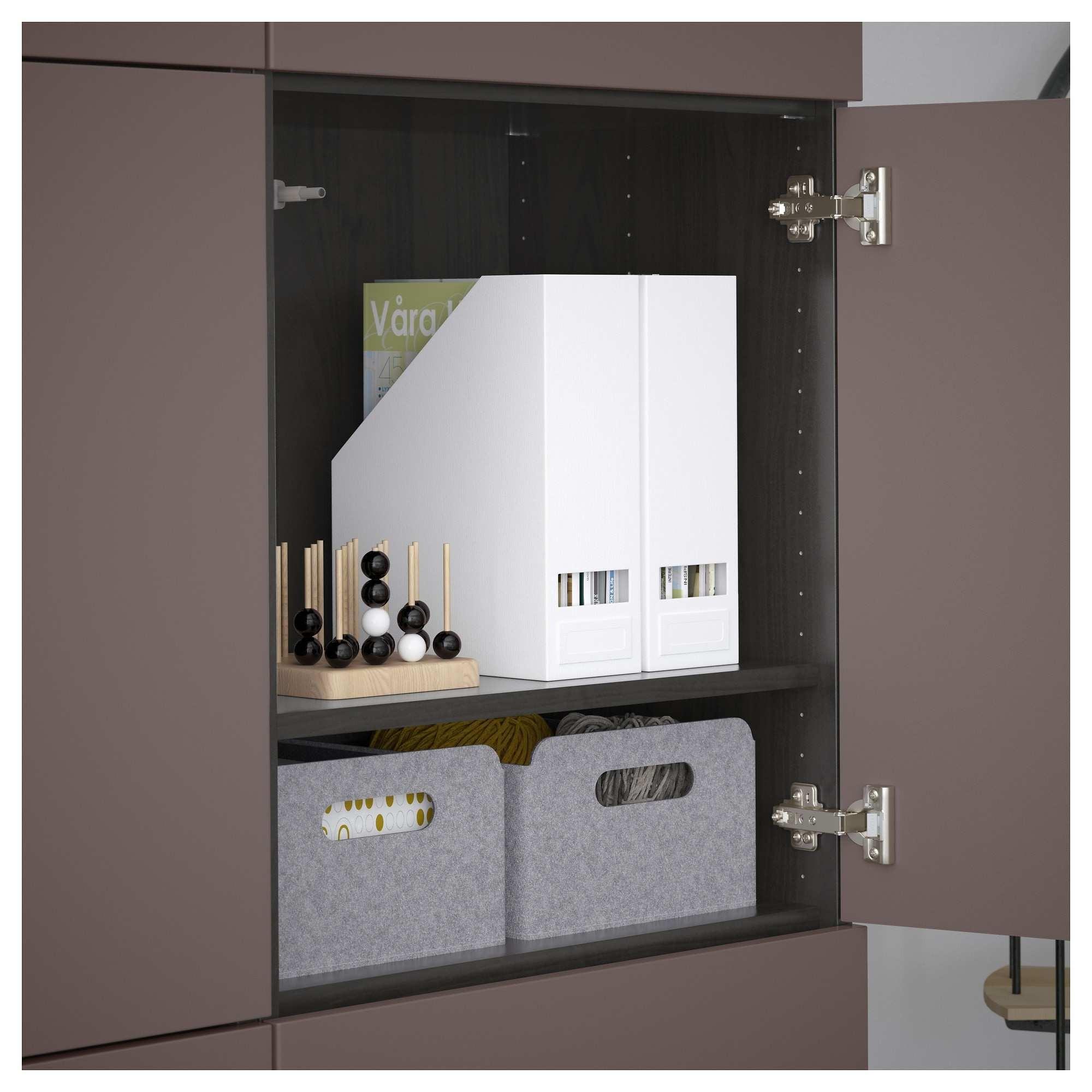 Planificador Armarios Ikea Recién Best… Mueble De Sal³n Con Almacenaje Negro Marr³n Valviken Marr³n