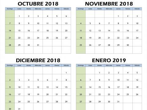 Calendario Enero 2019 Argentina Para Imprimir Actual Este Es Realmente Calendario 2019 Feriados