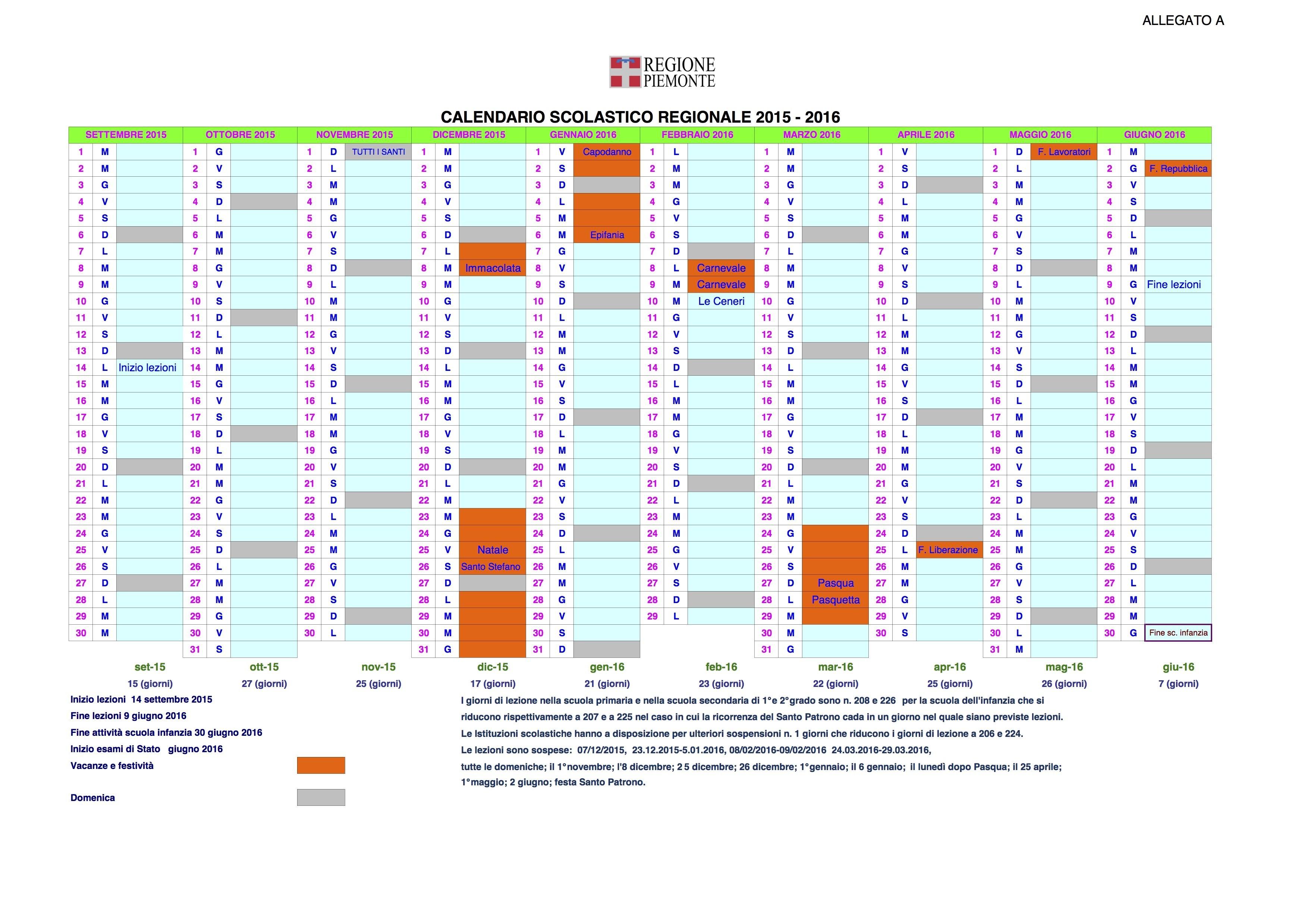 Calendario Scolastico Excel 2017 08 06 05 50