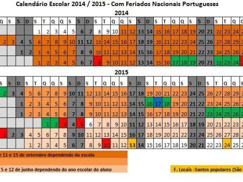 Calendário Escolar 2019/19 Portugal Para Imprimir Más Recientemente Liberado Calendário Escolar Ano Letivo 2014 2015 Em Excel