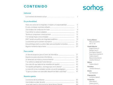 Calendario Escolar 2019 Argentina Comienzo De Clases Más Reciente somos 123 Mayo Junio 2012 A±o 15 by Universidad Eafit issuu