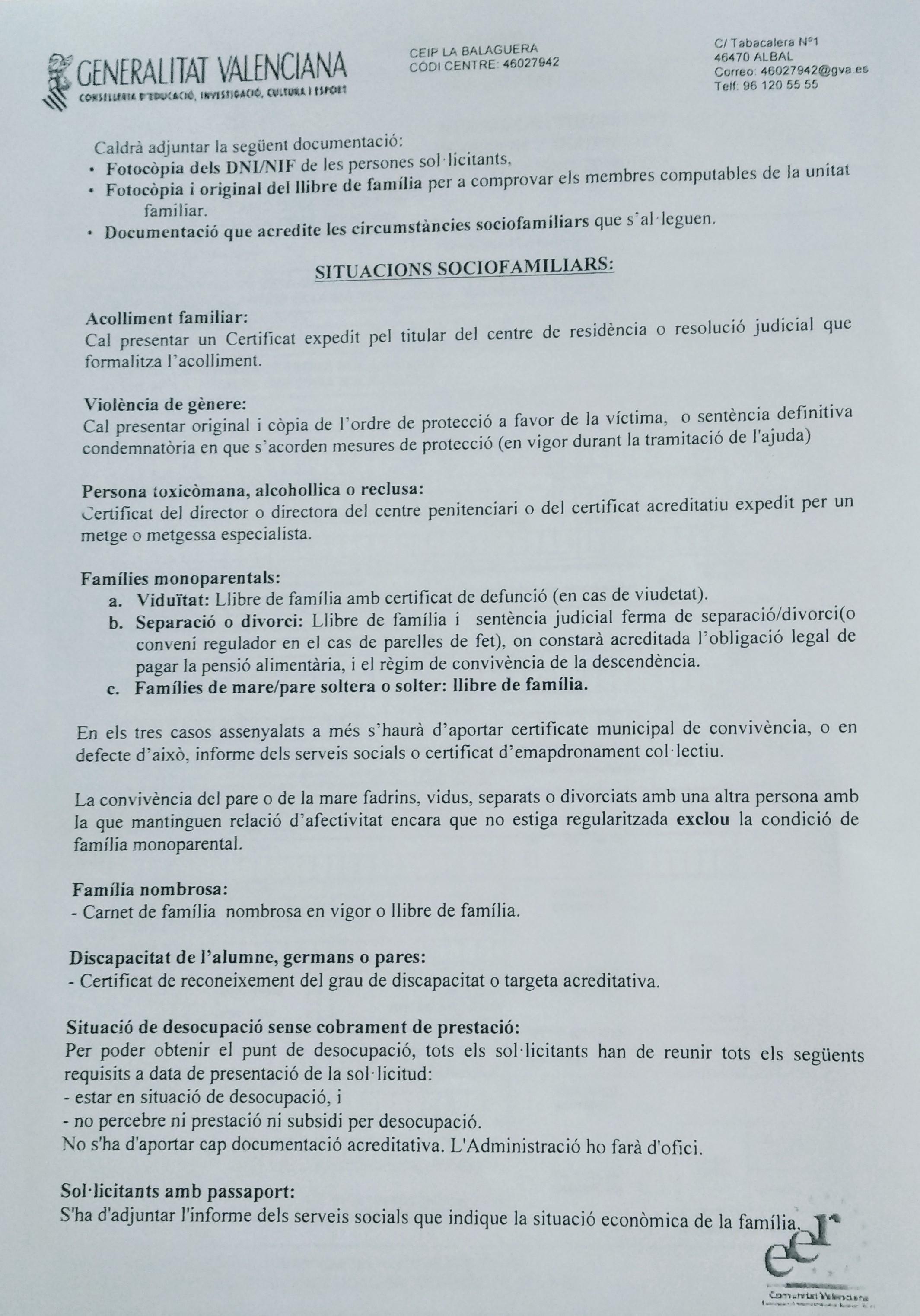 Calendario Escolar 2019 Ayuntamiento Valencia Recientes Mestre A Casa Ceip La Balaguera Albal Inici Of Calendario Escolar 2019 Ayuntamiento Valencia Más Recientes Etsid