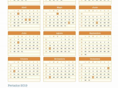 Calendario Escolar 2019 Boe Más Recientes Calendario Dr 2019 Calendario Argentina Ano 2019 Feriados